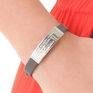 Marc by marc Jacobs ID bracelet